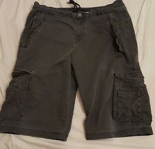 Men's Adidas Shorts 3/4 Grey Used Condition