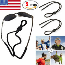 2 x Glasses Strap Neck Cord Sports Eyeglasses Band Sunglasses Rope String Holder