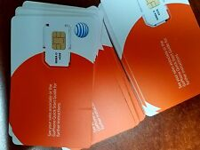 AT&T SIM CARD FOR USE ON GO PHONE PREPAID PLAN. SKU 6006A. ATT SIM