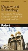 , Moscow and St.Petersburg (Gold Guides), Very Good, Paperback