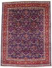 Floral Style Plush Handmade Vintage 10X13 Large Oriental Rug Home Decor Carpet