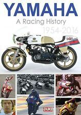 Yamaha - A Racing History 1954 - 2016 (New DVD) Motorcycle Sport