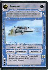 Star Wars CCG Hoth Black Border Snowspeeder