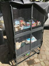 New listing Critter Nation double unit plus bedding/food/accessories for hamster, rat, etc