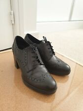Geox Leather Oxford Brogues Heels