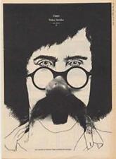 Frank Zappa Waka Jawaka LP advert Time Out cutting 1972