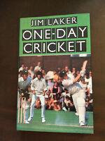 "1977 ""ONE-DAY CRICKET"" (JIM LAKER) CRICKET BOOK"