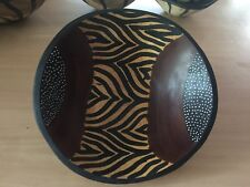Hand painted African bowl