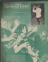 Scholastic NewsTime Magazine April 10 1964 Toulouse-Lautrec Shakespeare