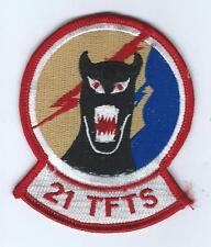 80s 21st TAC FIGHTER TRAINING SQUADRON  patch