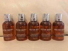 Molton Brown 5 x 50ml Heavenly Gingerlily Moisture Bath & Shower Gel BRAND NEW