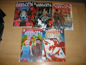 YOU ARE OBSOLETE (2020) - Complete Set / Series - #1, #2, #3, #4, #5 - NEW FP