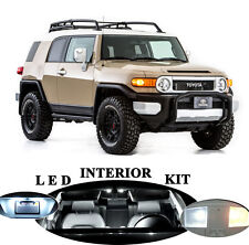 LED for Toyota FJ Cruiser White Interior + License plate / Tag + Reverse 10 pcs