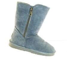 Lamo Women's Winter Classic Collection Juniper Furry  Grey Boots SIZE 9