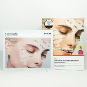 AVAJAR Rejuvenating Face Wrinkle Control Mask 5pcs Anti Aging Moisture K-Beauty