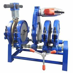 4 Clamps Pipe fusion welder HDPE PPR Plastic Welding Butt fusion machine 63-160m