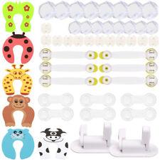 48 x  Sicherheit Baby Proofing Set Kindersicherheit Ecke Drawer Locks Protector