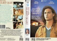 WHAT'S EATING GILBERT GRAPE? -VHS - PAL -NEW -Never played! -Original Oz release