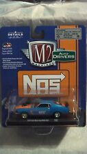 M2 MACHINES 1/64 AUTO DRIVERS R40 1970 FORD MUSTANG BOSS 429 NOS NEW RARE