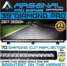 "No.1 39"" 7D Pro Optic Single Row Straight CREE LED Light Bar 180w 14,500LM"
