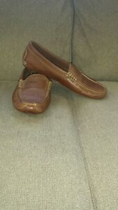 BROOKS BROTHERS MEN SHOES DRIVERS  SIZE 8-8.5 BROWN SUPER CONDITION