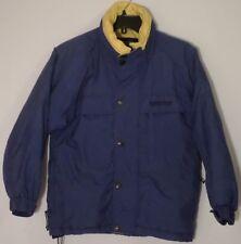 Boys Coat Jacket 10-12 Lined Blue Yellow Weatherproof Garment Company EUC