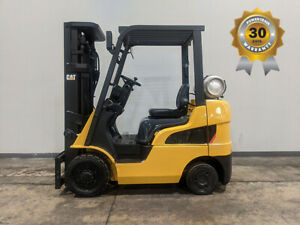 2012 CAT CATERPILLAR 2C5000 5000LB CUSHION FORKLIFT LPG LIFT TRUCK HI LO 83/187
