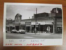 Vtg Glossy Press Photo Natick MA E Central & Hayes St Donuts Pharmacy 6/06/85