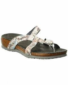 Think! Julia Leather Sandal Women's Grey 41