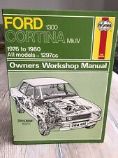 FORD CORTINA MK IV / V - 1.3 1300 - HAYNES CAR SERVICING REPAIR MANUAL 1976-1980