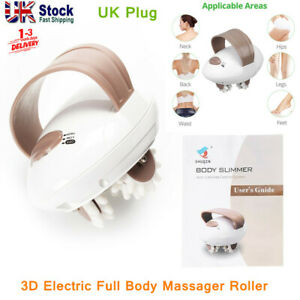 Body Slimming Massager Electric 3D Roller Fat Remove Anti Cellulite Machine UK