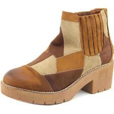 Botas de mujer de tacón medio (2,5-7,5 cm) de lona talla 40