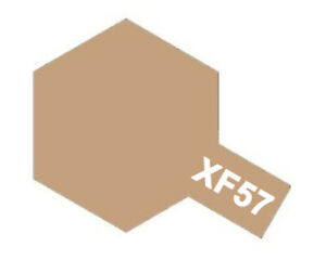 Tamiya 81757 Matt Acrylic Paint XF57 Buff (10ml) Modélisme