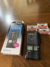Radioshack Voice Activated Micro Cassette Tape Recorder Vintage
