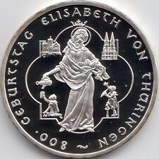 10 Euro Gedenkmünze Elisabeth von Thüringen 2007 Polierte Platte Silber 925/-