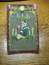 YULETIDE   POSTCARD   POST DATED 1911    GERMANY