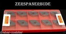 10 Wendeplatten DNMG 150612-PM 4215 v. SANDVIK für Stahl DNMG 443-PM 4215