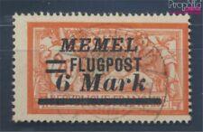 zona del Memel 106 usado 1922 Correo aéreo (7895677