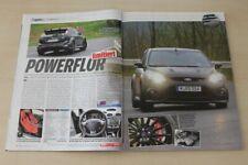 Auto Bild Sportscars 2587) Ford Focus RS 500 mit 350PS im Fahrbericht auf 2 Se