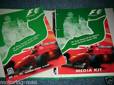 San Marino GRAND PRIX programma premere Media Pack Kit 1998 fisichela Schumacher