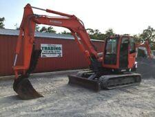 2013 Kubota KX080 Midi Excavator w/ Cab & Hydraulic Thumb!