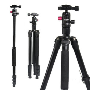 Zomei M3 Camera Tripod Stand  Monopod With Ball Head For Camera Live Shooting