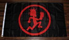 New Insane Clown Posse Juggalo Benner Flag 3x5 Hatchet Man Black Red USA Shipper