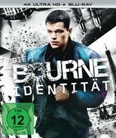 DIE BOURNE IDENTITÄT - 4K 2 ULTRA HD BLU-RAY NEW  MATT DAMON/BRIAN COX/+
