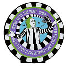 Beetlejuice Ghost With The Most Babe Tabletop Sign Decor Halloween New