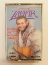 Christmas With Gheorghe Zamfir Holiday Music Cassette Tape 1984, Pan Flute