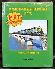 MORNING SUN BOOKS - MISSOURI-KANSAS-TEXAS Lines In Color Vol. 3 - HC 128 Pages