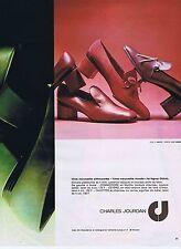 Publicité Advertising 016 1975 Charles Jourdan chaussures pour femme