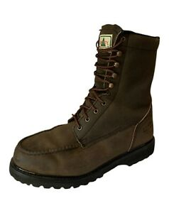 Liberty Boots Liberty Moc Toe Logger Boots Thinsulate Work Boots Men's 12D