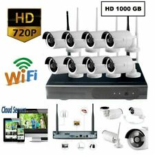 Each Italy Kit Videosorveglianza NVR 8 Telecamere Wireless